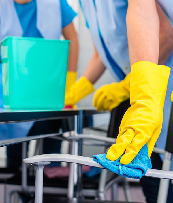 Cleaning companies in Cambridge at work