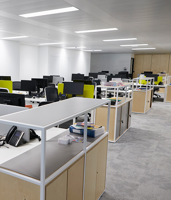 Fully cleaned Cambridge office